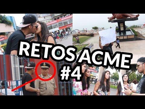 BRUNOACME ROBA BESOS/ PUTAS Y DROGAS A POLICIA │ RETOSACME #4 │ @brunoacme