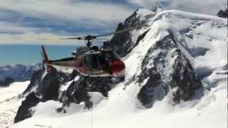 Mont Blanc, Aiguille du Midi, Helicopter