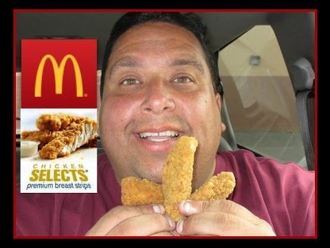 """They're Back!"" McDonald's® Chicken Select Tenders Review"