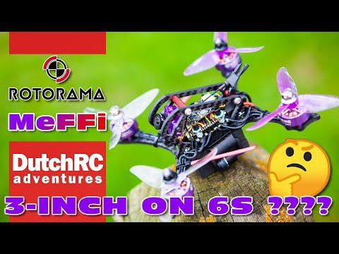 4S Or 6S?? Rotorama Meffie 3 - The Eachine Wizard X140HV Reborn ;)