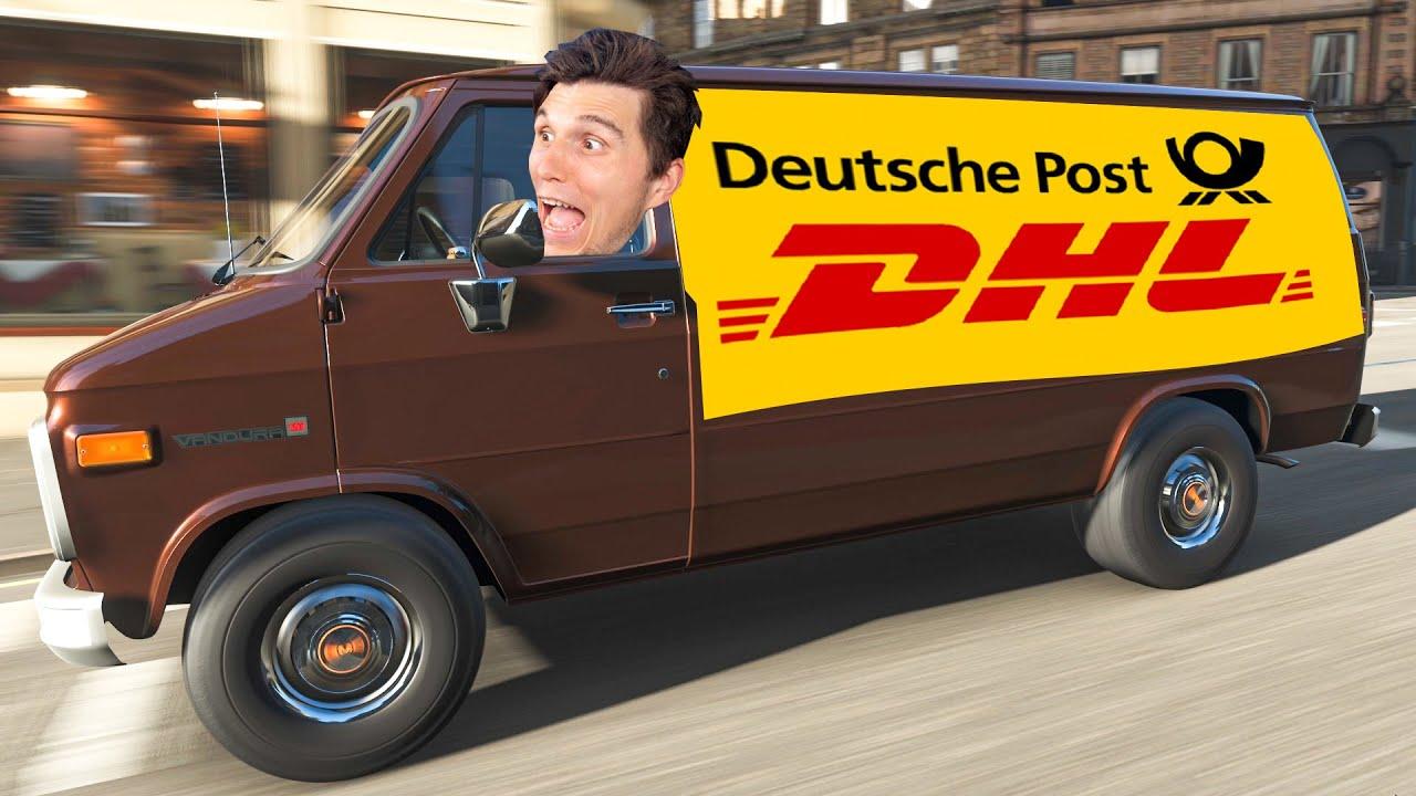 Der schnellste DHL Fahrer der Welt   Forza Horizon 4
