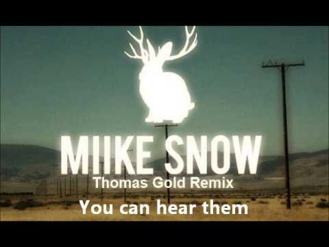 Miike Snow - The Wave - YouTube