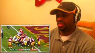 Packers vs redskins full highlights reaction