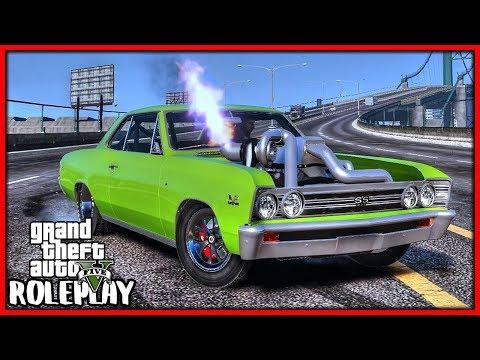GTA 5 Roleplay - Big Engine 'MONSTER' Drag Racer   RedlineRP #668