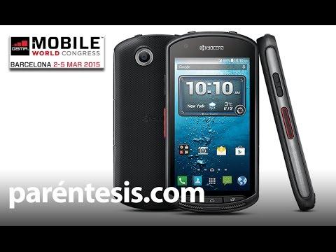 #MWC15: Kyocera Dura Force, un celular sin auricular