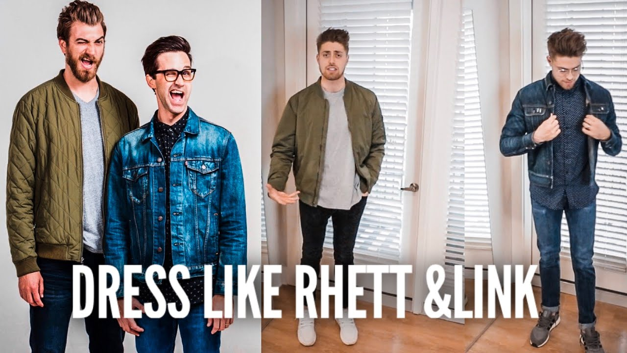 [VIDEO] - Copying Iconic Rhett & Link Outfits | How to Dress Like Rhett & Link, GMM 1