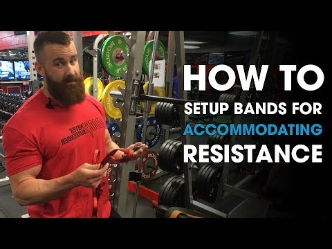 How to Setup Bands For Accommodating Resistance