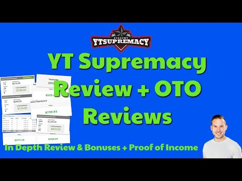 YT Supremacy Review🔥  In Depth Review with bonuses and proof of income | Make Money on YouTube 🔥 thumbnail