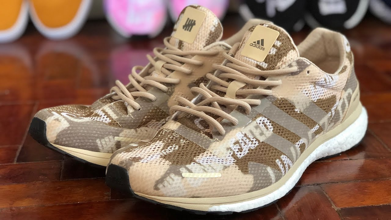half off 3eed8 df8dc adidas x UNDFTD Adios Adizero Review: Statement Trainers