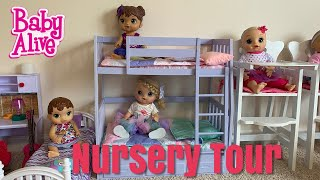 Baby Alive Nursery Tour In The New House
