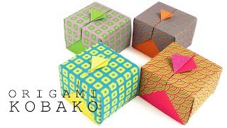 One-sheet Origami Box