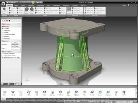 IRONCAD – 3D Innovative Part Design