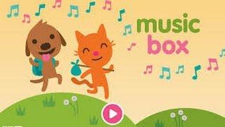 Sago Mini Music Box - Best iPad app demo for kids - Ellie