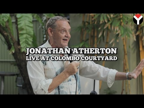 Stand up comedy with Jonathan Atherton