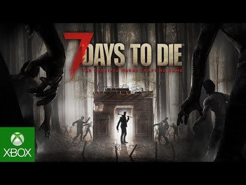 "7 Days to Die - Gameplay Trailer ""Available Now"""
