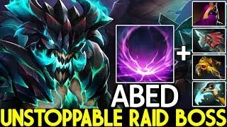 ABED [Outworld Devourer] Unstoppable Raid Boss 20 Kills Cancer Build 7.22 Dota 2