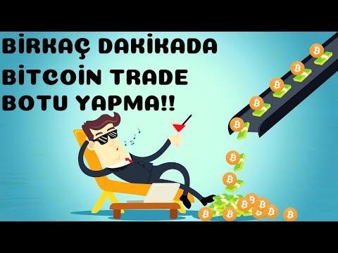 Birkaç dk'da Bitcoin, Altcoin Trade Botu Yapma! (Kodlama Bilgisi Gerekmeden...Autoview)