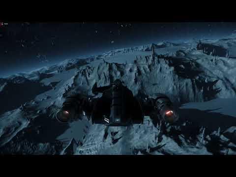 Star Citizen 3.3.0 PTU PVP at Levski - Pirat Catepillar 3 crew Gunner + Sabre  Raven Wing Assist