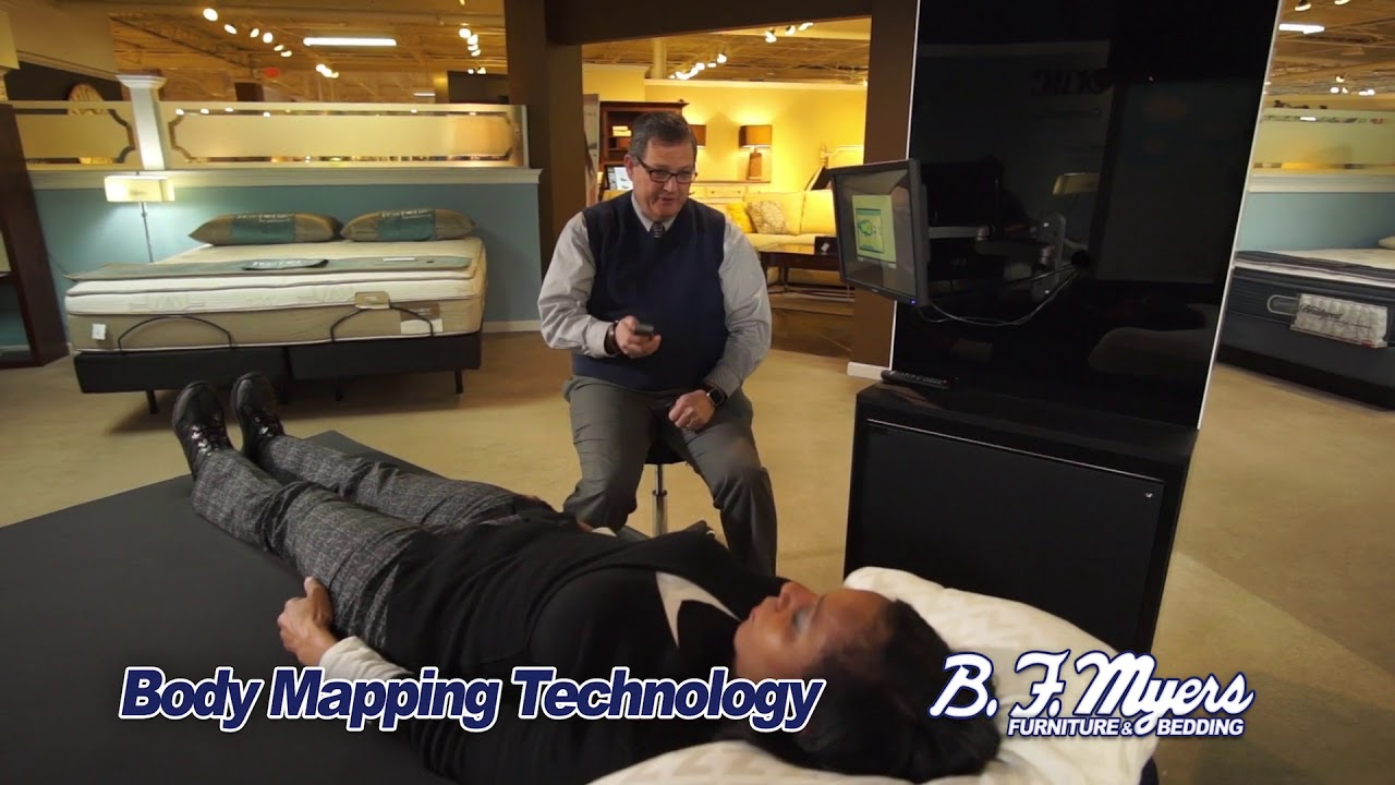 BF Myers Furniture / Custom Body Mapping 1