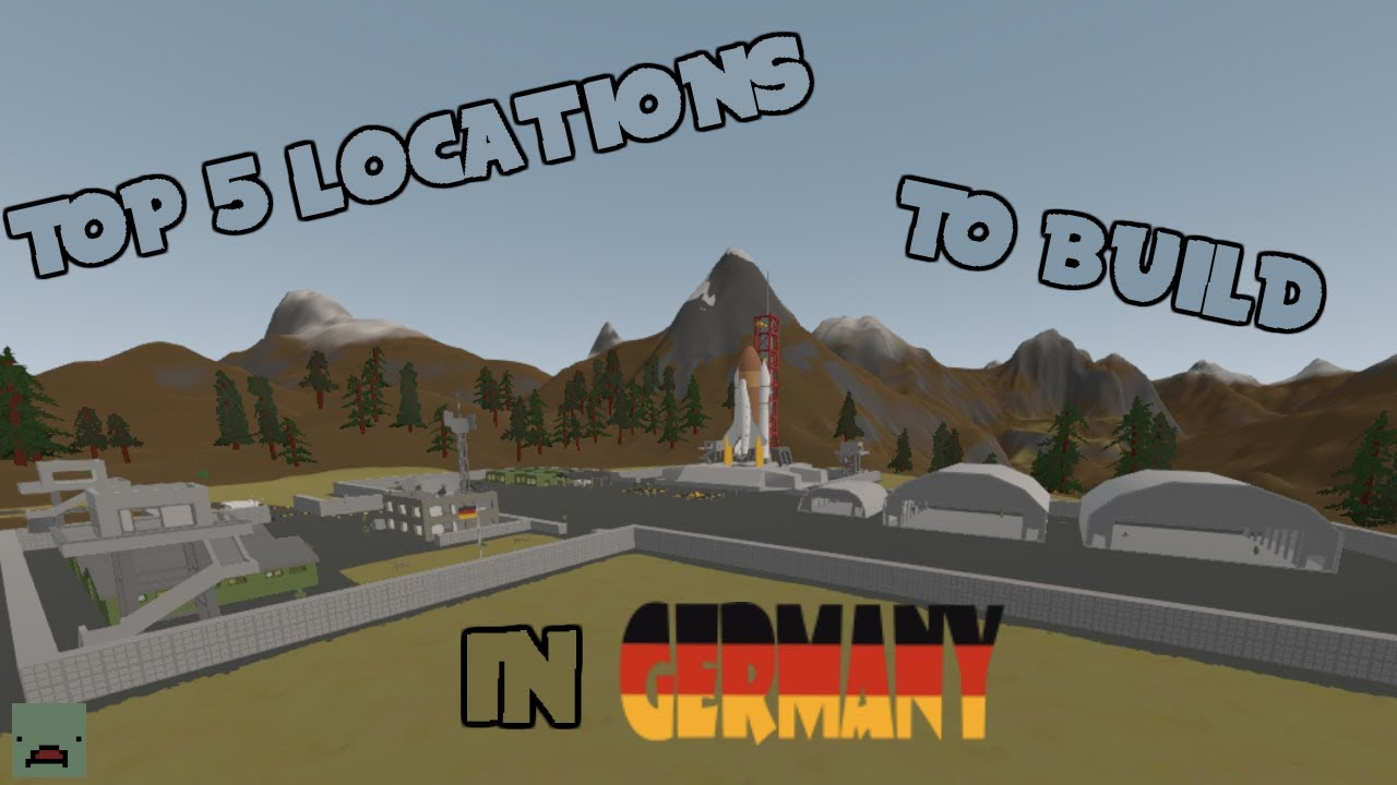 Unturned Top BEST Base Locations In Germany YouTube - Berlin map unturned