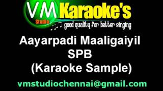 Aayarpadi Maaligaiyil Karaoke