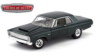 1965 - PLYMOUTH BELVEDERE COUPE 426 HEMI Mistic Green (Highway 50910).