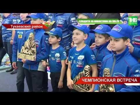"""Сегодня в аэропорту """"Бегишево"""" встречали победителей и призёров Дакара команду «КАМАЗ-мастер»"""