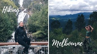 HIKING MELBOURNE || STEAVENSON FALLS + WHAT WE ATE
