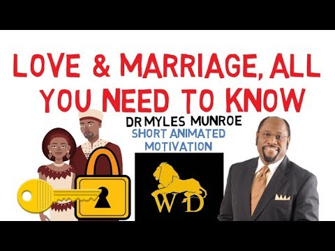 THE FINAL SAY ON RELATIONSHIP BY DR MYLES MUNROE  (The Absolute 5 Keys!!!)