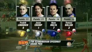 Speedway gp,The final, Målilla,Sweden,2010, Holta, Crump, Gollob, Lindgren