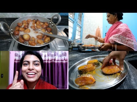 Mother in Law is Making Gokul Pitha for Us || Vlog || makeUbeautiful