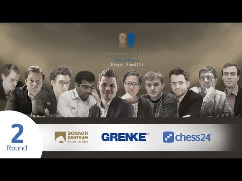 Round 2 - 2018 GRENKE Chess Classic - Live commentary