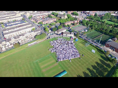 Batley Eid Gah 2017 by Drone in 4K