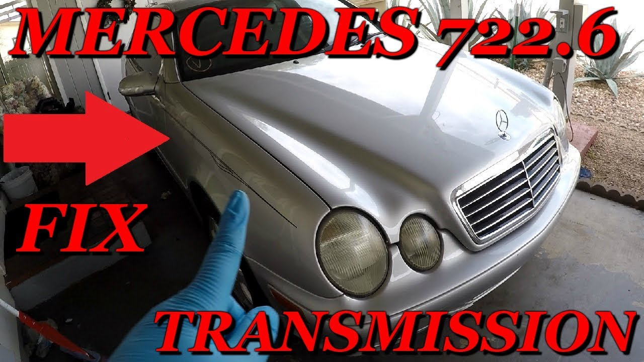How to Fix Mercedes 722 6 Transmission Problems