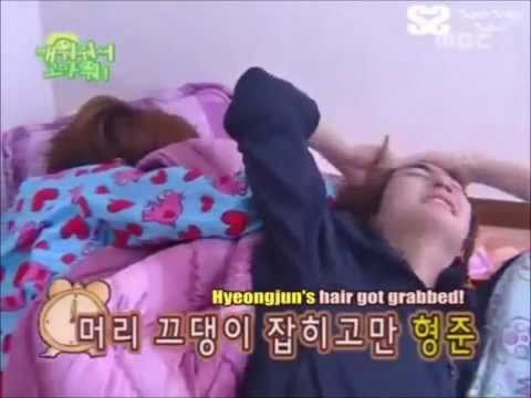 [SS501] Don't even dare wake Jung Min up