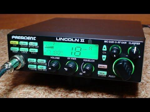President lincoln II ASC - Zanim kupisz cb radio - Test # 42