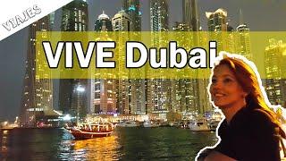 ¿Cómo se vive en Dubai? ¿Trabajar en Dubai? Marina, JBR, JLT, Burj Califa, Emirates,...