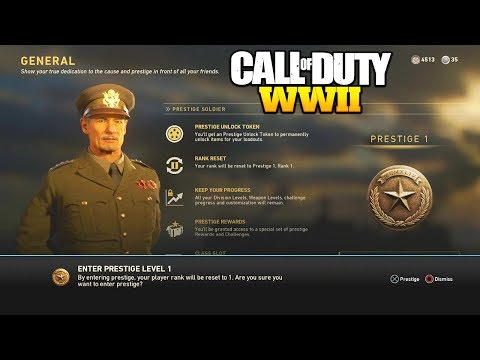 1st PRESTIGE! What Happens When You Prestige in WORLD WAR 2?