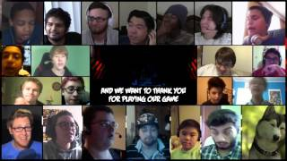 """Goodbye"" Song By TryHardNinja Ft. DAGames Reaction Mashup"