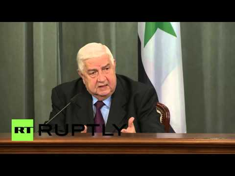 Russia: Turkey downed Su-24 because jet was targeting its terrorists, says FM Muallem