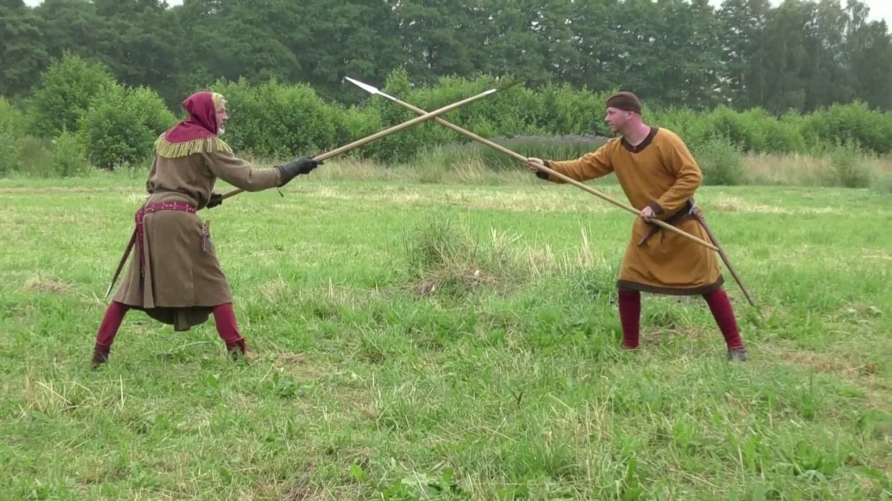 Medieval Spear Play, Part 1 - YouTube