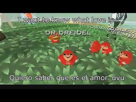 Uganda Knuckles | I Want To Know What Love Is | Full