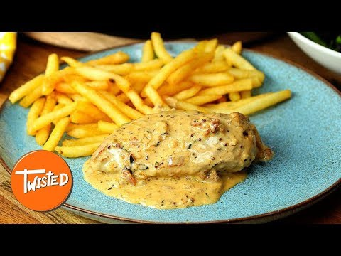 How To Make Creamy Honey Mustard Skillet Chicken | Twisted