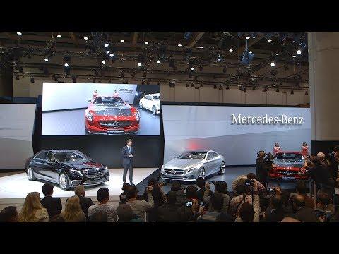 Tokyo Motor Show 2013 press conference - Mercedes-Benz original