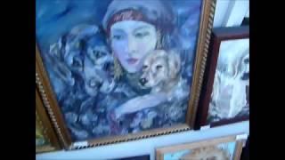 Выставка картин в с. Кулунда 2017г