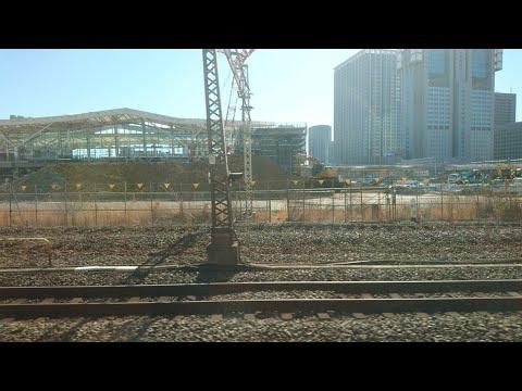 【東京旅行・山手線1周旅④】品川~東京車窓。あの2020年開業予定の高輪ゲートウェイ駅を発見❗