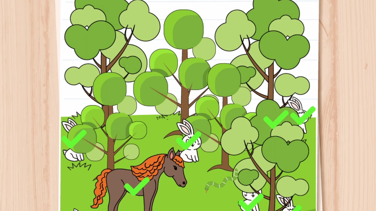 Brain Test Level 168 Find All The Animals In The Picture Youtube