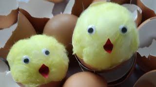 Jak zrobić kurczaczka - ozdoby wielkano...
