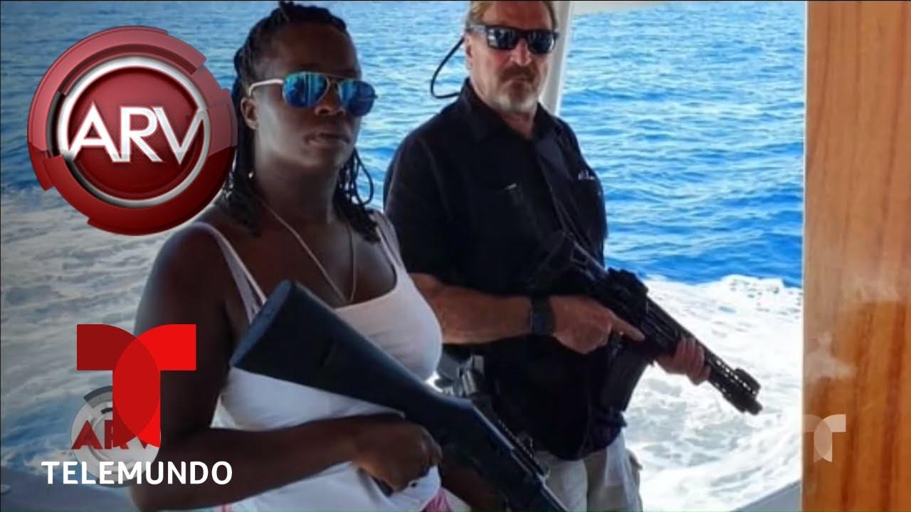Deportan al multimillonario John McAfee de República Dominicana | Al Rojo Vivo | Telemundo