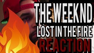 Gesaffelstein & The Weeknd Lost in the Fire Official Video Reaction